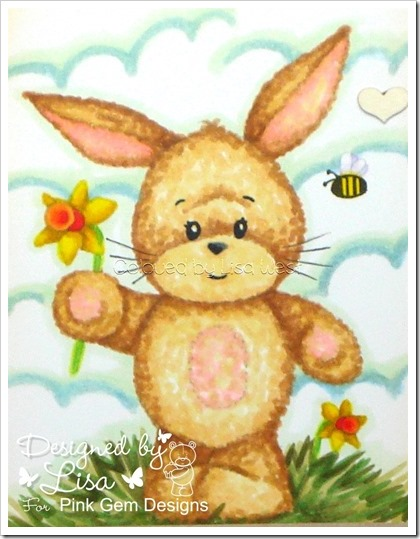 Bunny with Daffodil (4)