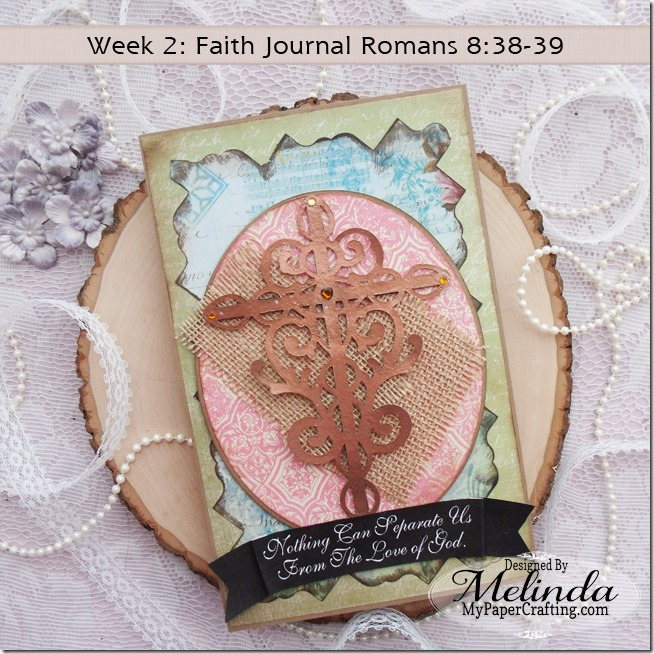 Faith Journal SVG Flourish Cross Melinda Beltran