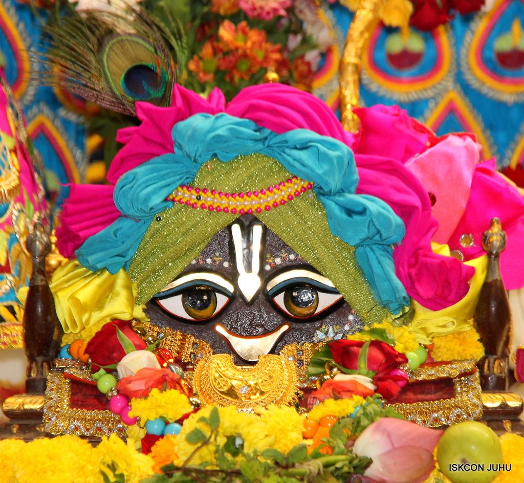 ISKCON Juhu Sringar Deity Darshan on 2nd Oct 2016 (16)