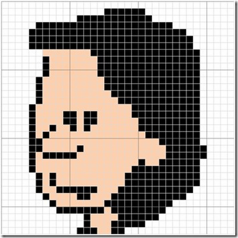 Calvin, esquemas en punto de cruz