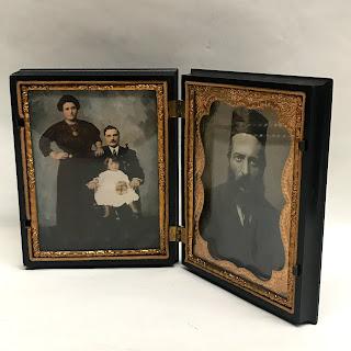 Daguerreotype Plate Portraits