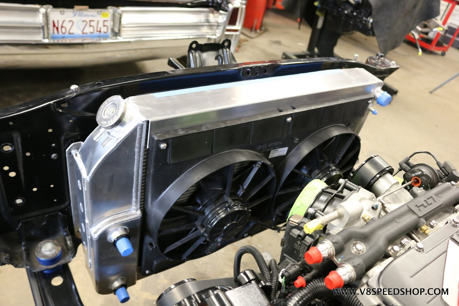 1969 Camaro Transforms From Big Block to Supercharged LT4 V8 at V8 Speed & Resto Shop