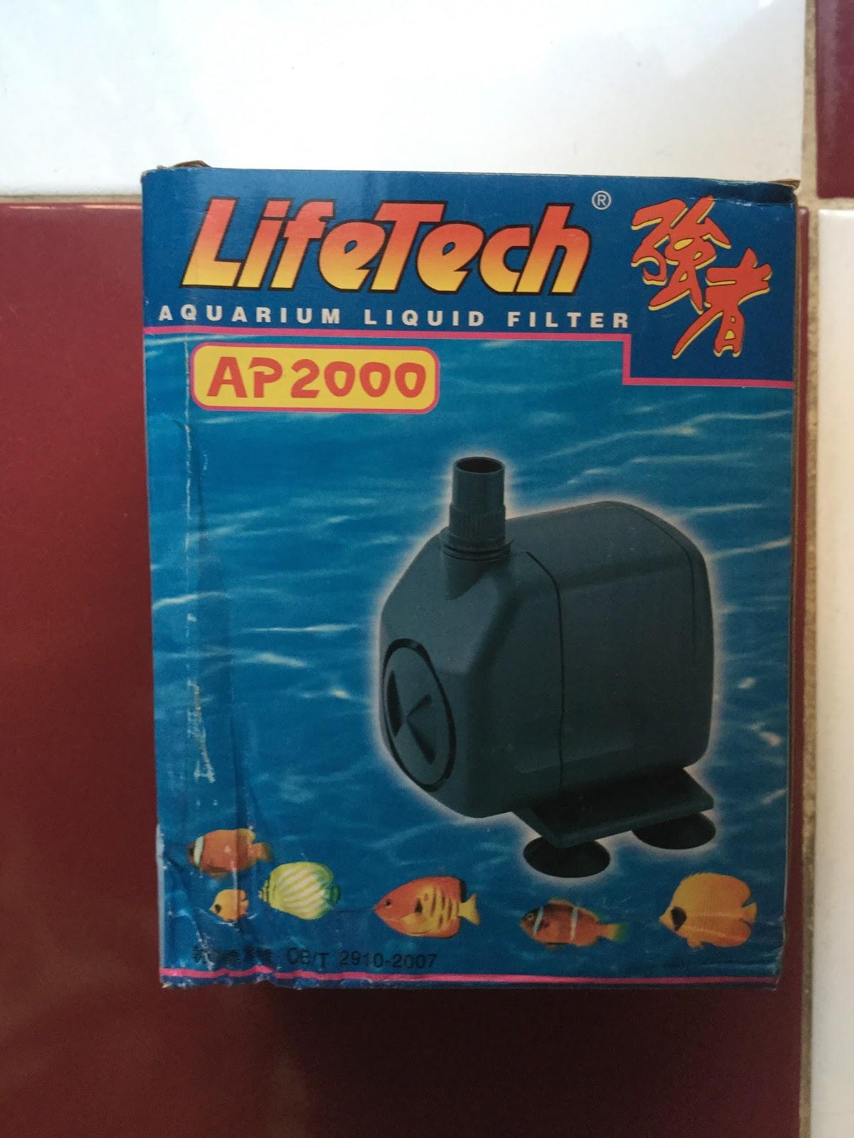 Các loại máy bơm dùng cho hồ thủy sinh, hồ cá cảnh