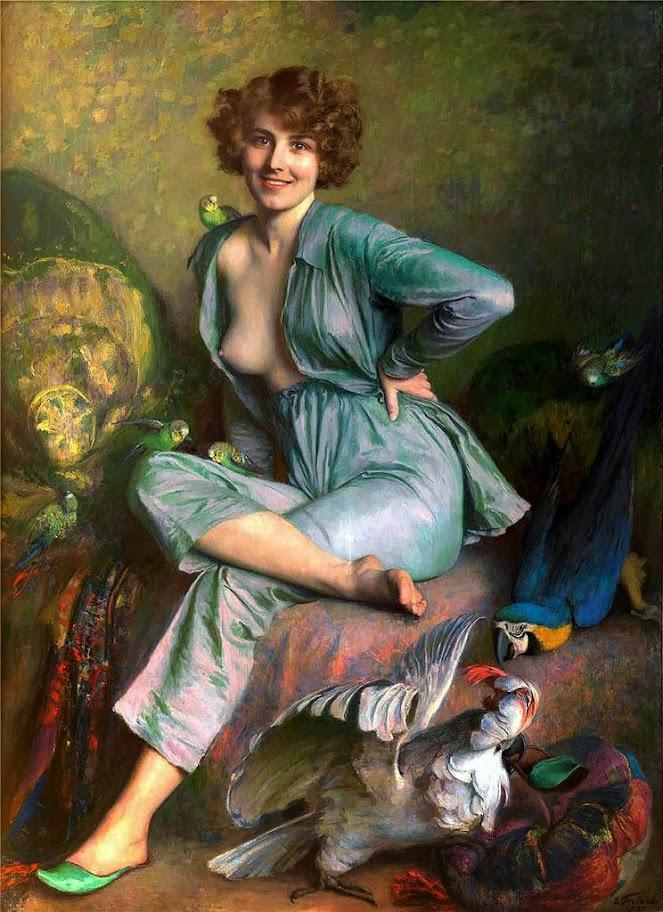 Émile Friant - The Birds