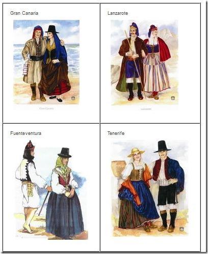 vestimenta canara