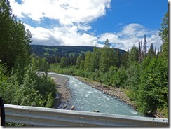 Another river near Meziadin Junction , Cassiar Highway