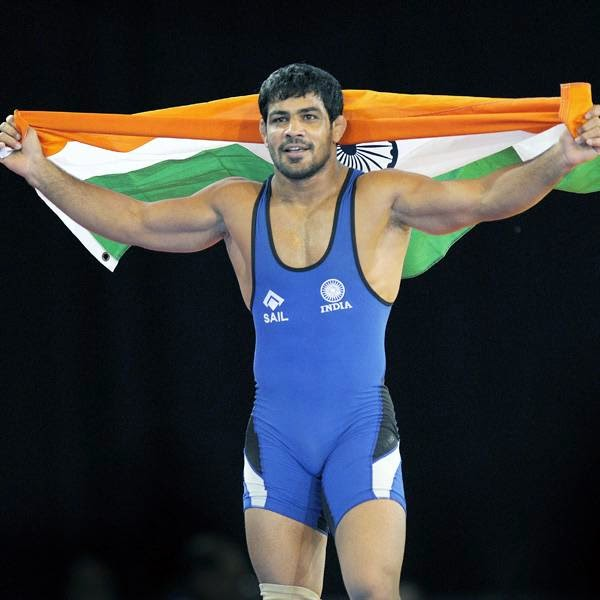 Former World Champion Sushil, who had won the gold in the 66kg category in 2010, was leading 6-2 in the first period when referee V. Keelan decided to give it in favour of the Indian, who managed to pin down Abbas.