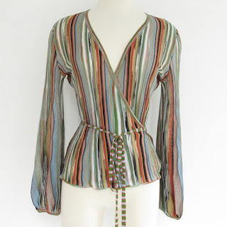 M Missoni Wrap Cardigan