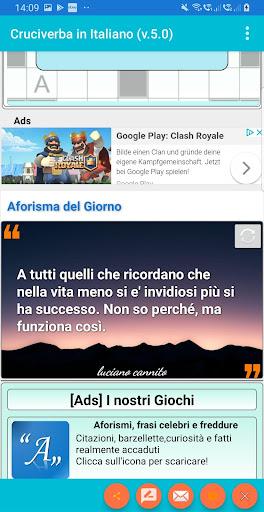 Italian Crossword Puzzles - Advanced Level 7.5 4