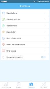 Eletta Sync Smart Watch App - náhled