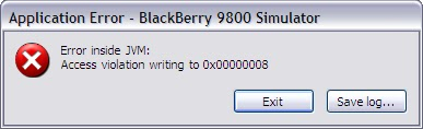 Application_Error_BlackBerry_9800_Simulator_Error_inside_JVM