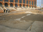 Lucas Oil Stadium - City Wide Clears Area to Prepare for Asphalt Installation