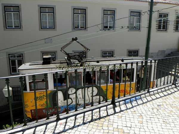 Элевадор да Глория в Лиссабоне
