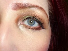 wearing butter LONDON Iconoclast Mega Volume Lacquer Mascara and Iconoclast Infinite Lacquer Liner