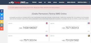 Fake Number Indonesia Digunakan Untuk Telegram