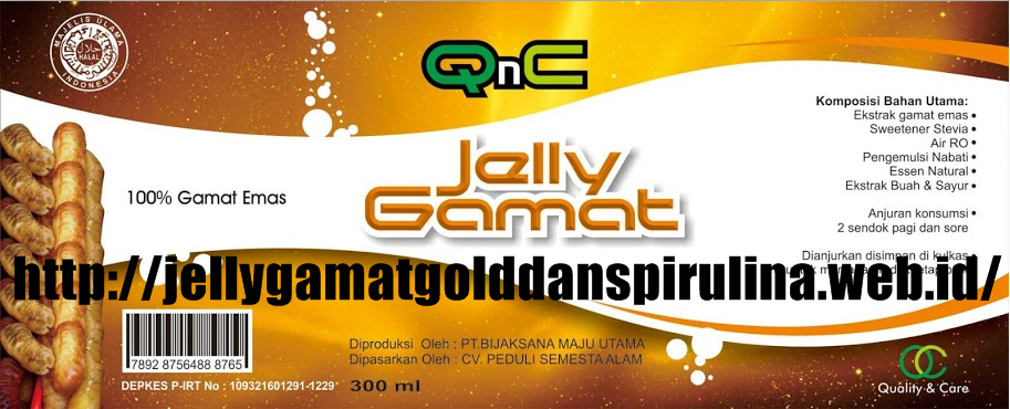 Cara Pemesanan QnC Jelly Gamat Asli Temurah