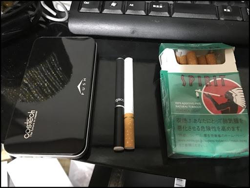 IMG 0908 thumb%25255B2%25255D - 【スターター】costech スターターキットレビュー!タバコサイズで楽々VAPE?職場でも浮かないステルスなVapingを!