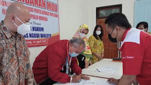 Penandatanganan Perjanjian Kerja Universitas Ngudi Waluyo dengan DPP Federasi Advokat Republik Indonesia