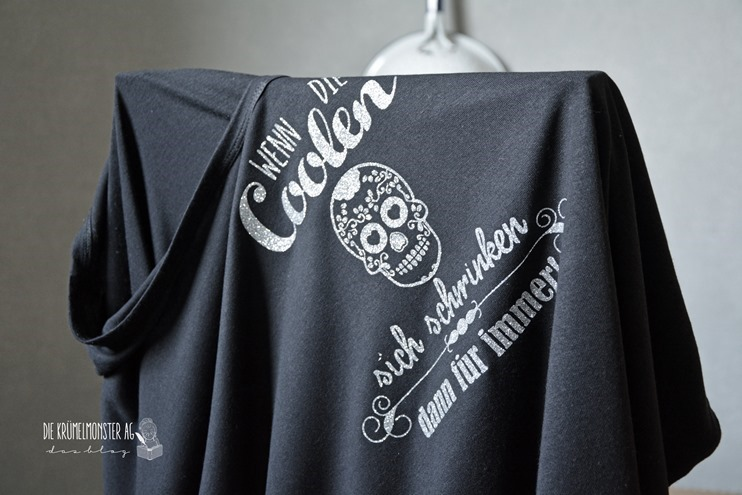 T-Shirt (04) Wenn die Coolen sich schminken