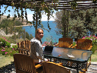 Isla Suasi on Lake Titicaca