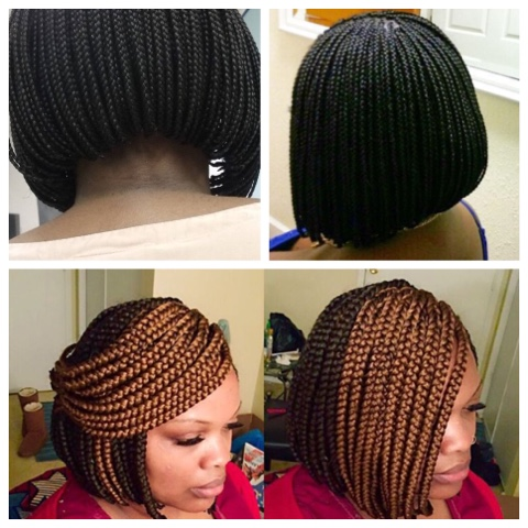If you're wondering what hairstyle to do next, consider bob braids. Whether  you want it tiny or big, its a beautiful style to try. - Welcome To Jules Blog: Bob Braids Hairstyle