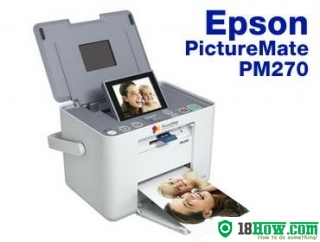 How to Reset Epson PM270 flashing lights error