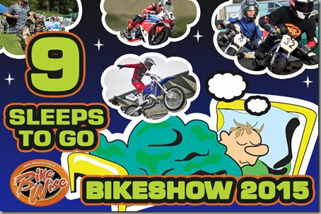 Bikewise Countdown (9 sleeps) Graphic