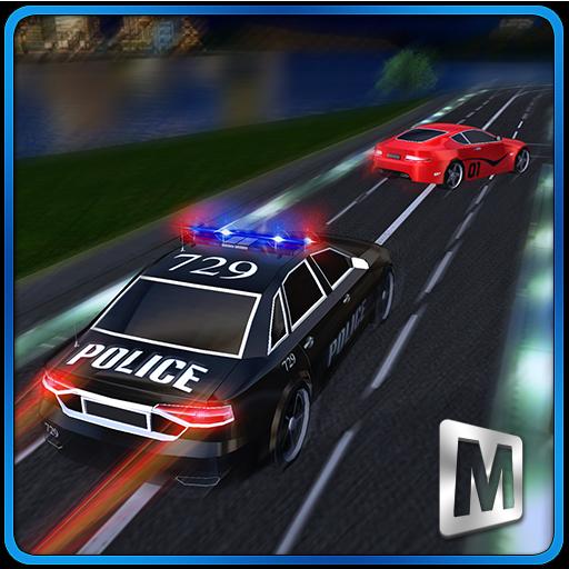 アメリカカリフォルニア州の警察の追跡 冒險 App LOGO-硬是要APP