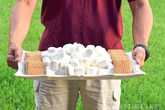 Build your own smores platter