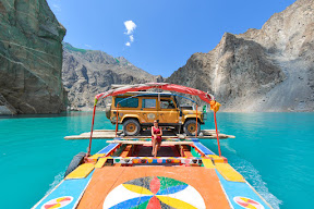 Attabad lake, Hunza valley