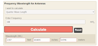 Calculating antenna length