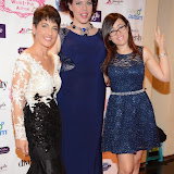 WWW.ENTSIMAGES.COM -  Anna Kennedy, Natasha Devon and Dani Bowman   at     Charity catwalk show at Wear it for Autism - Millennium Hotel London Knightsbridge, London October 6th 2014Charity fashion show to celebrate families and individuals affected by autism.                                                 Photo Mobis Photos/OIC 0203 174 1069