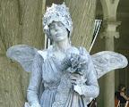 Grey Stone Fairy Close up