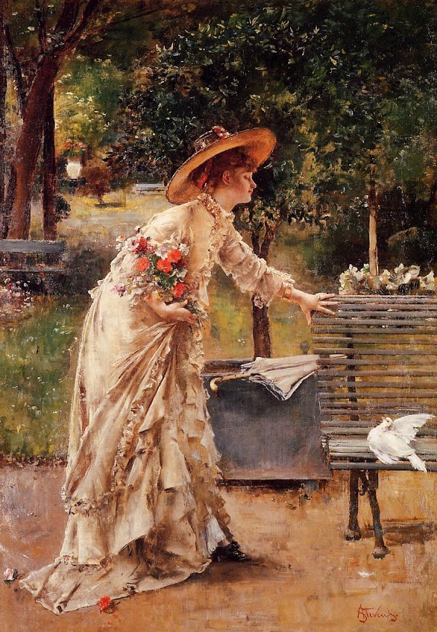 Alfred Stevens - Afternoon in the Park