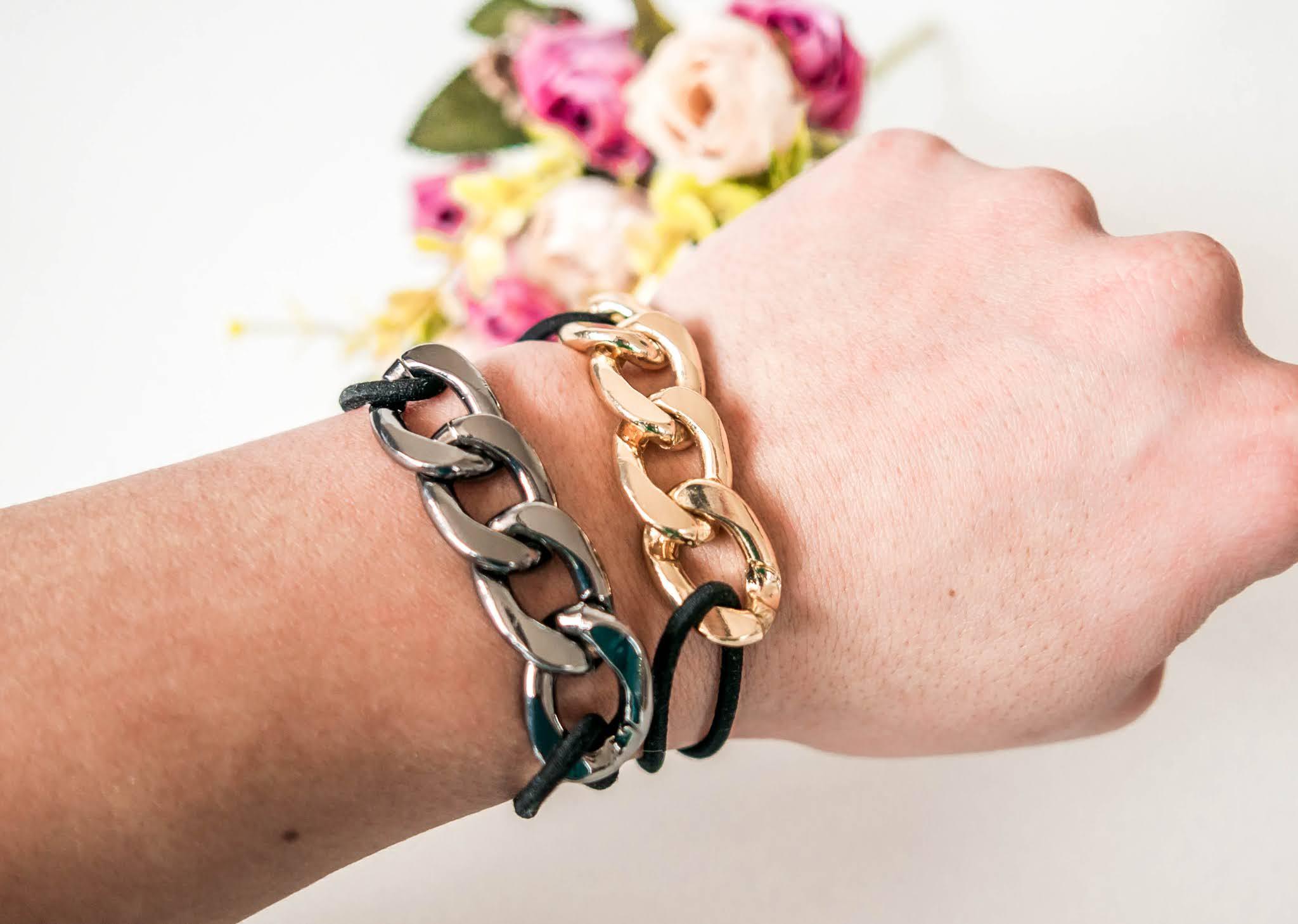 modne łańcuchy