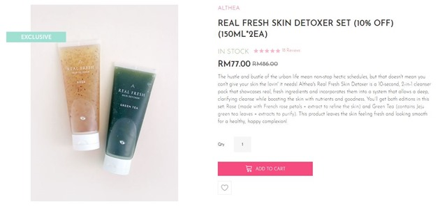 ALTHEA REAL FRESH SKIN DETOXER (1)