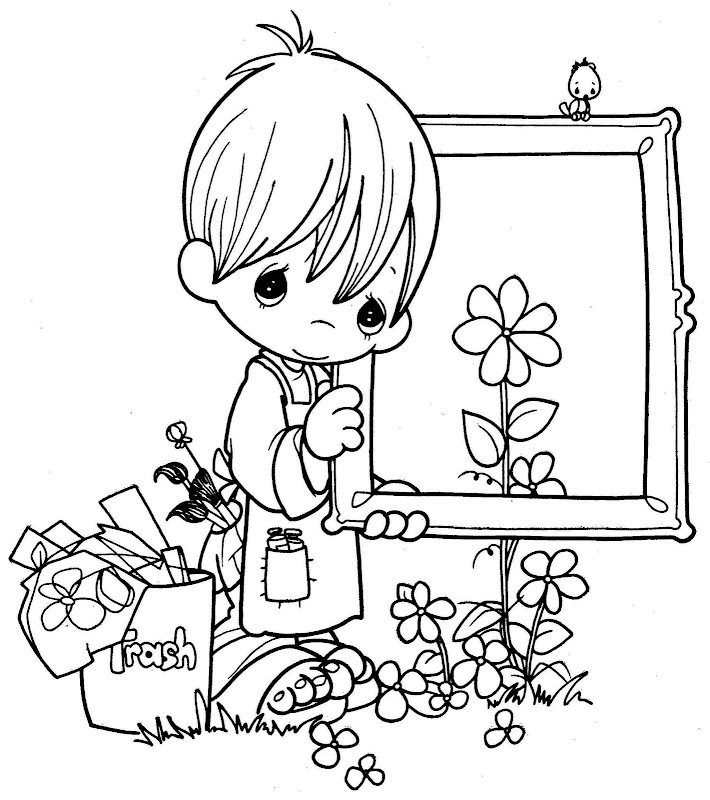 Coloring pages september 2012 for Precious moments giraffe coloring pages