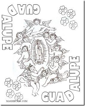 GUADALUPE COLOREAR 7