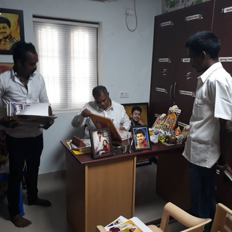 Vijay Makkal Iyakkam Office,Panaiyur,chennai  - Social Security