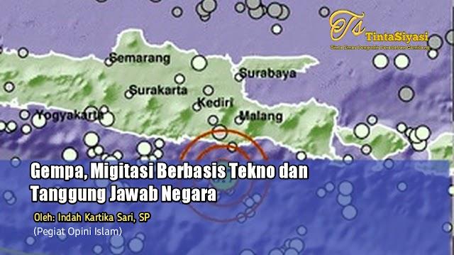 Gempa, Mitigasi Berbasis Tekno dan Tanggung Jawab Negara