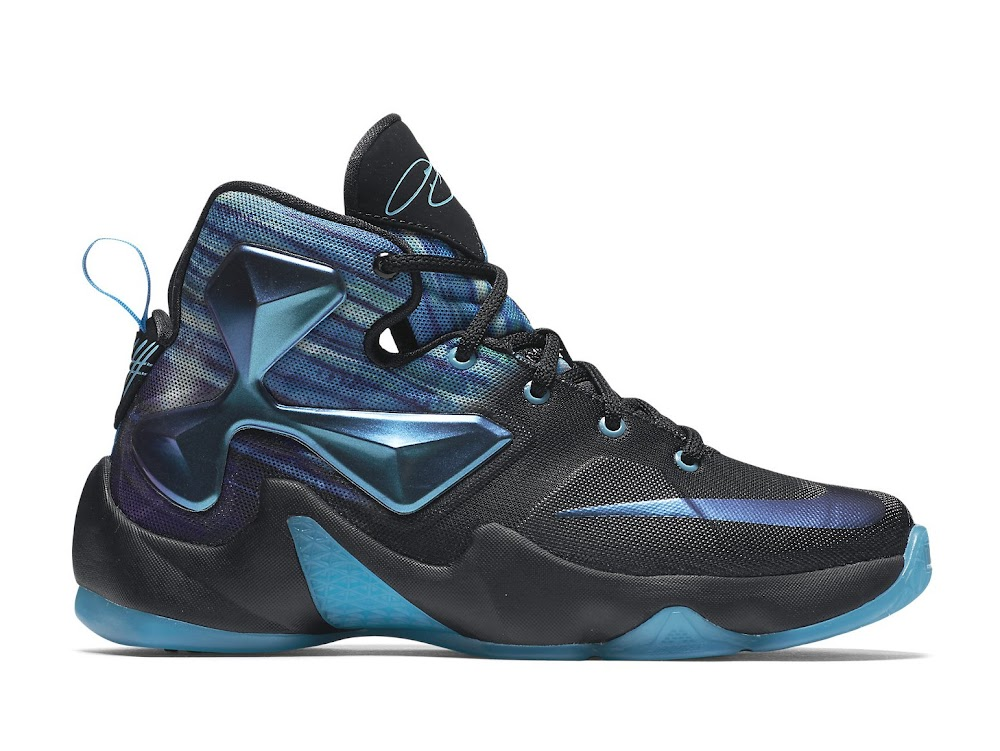 822d49b4c6c8 Nike Adds Summit Lake Hornets Look to LeBron 13 For Kids ...