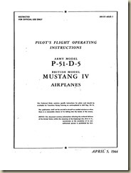 P-51 Pilot's Flight Operating Instructions_01