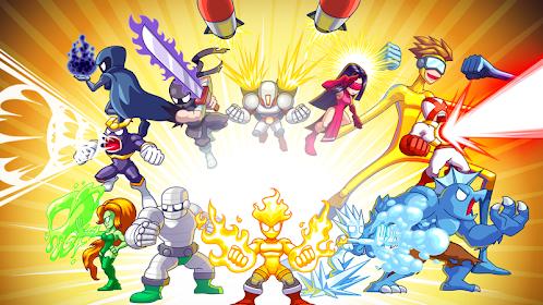S.U.P.E.R - Super Defenders Mod