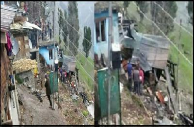 हिमाचल में भीषण अग्निकांड- घर में आग लगने से जिंदा जल गए पति-पत्नी और दो बच्चे