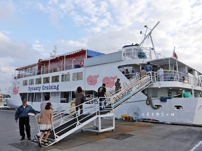 32 沖繩自由行 那霸一日遊 波上宮、波之上海灘、海底觀光遊覽船、白鯨號夕陽遊輪晚餐