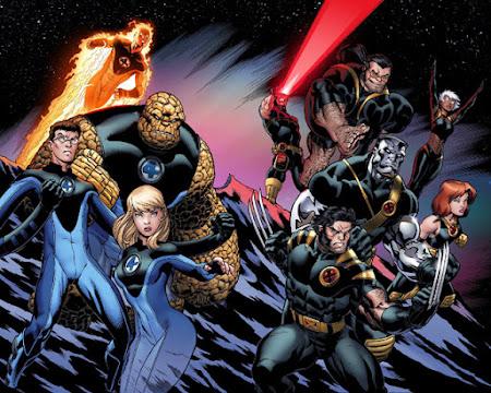 Quarteto Fantástico | X-Men