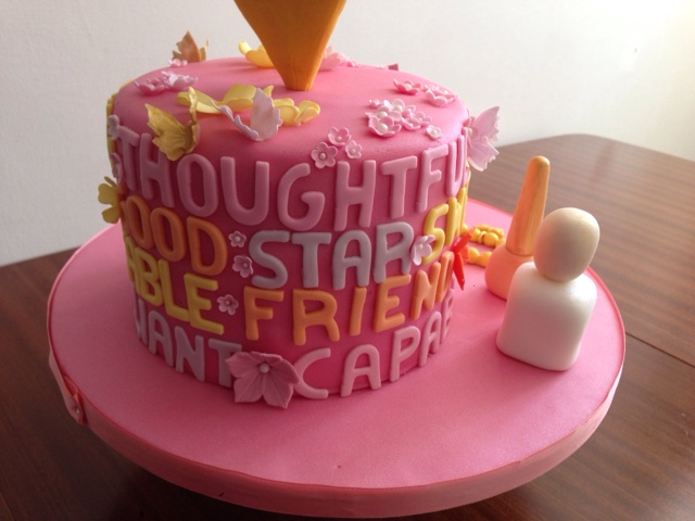 Nail Varnish Birthday Cake Splendid Wedding Company