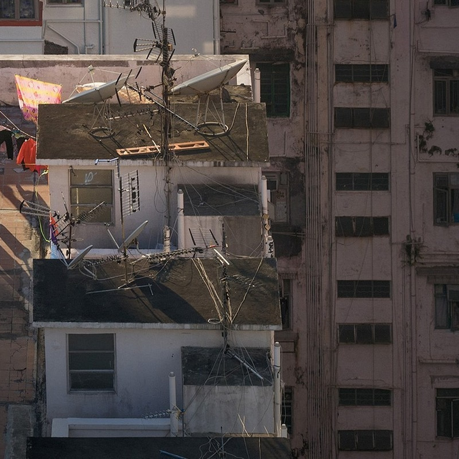 What Rooftops Tell About Hong Kong's Residents