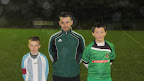 Captain Luke O'Hanlon before U14 Local Cup game against Corkbeg.