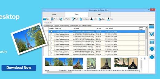 برنامج حذف الملفات والصور المتشابهة No clone